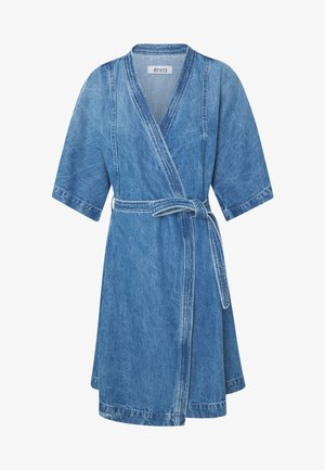 ELODIE - Denimové šaty - blue