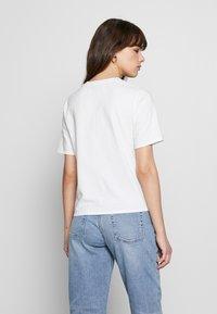 Ética - EVIE CLASSIC TEE - Basic T-shirt - white - 2