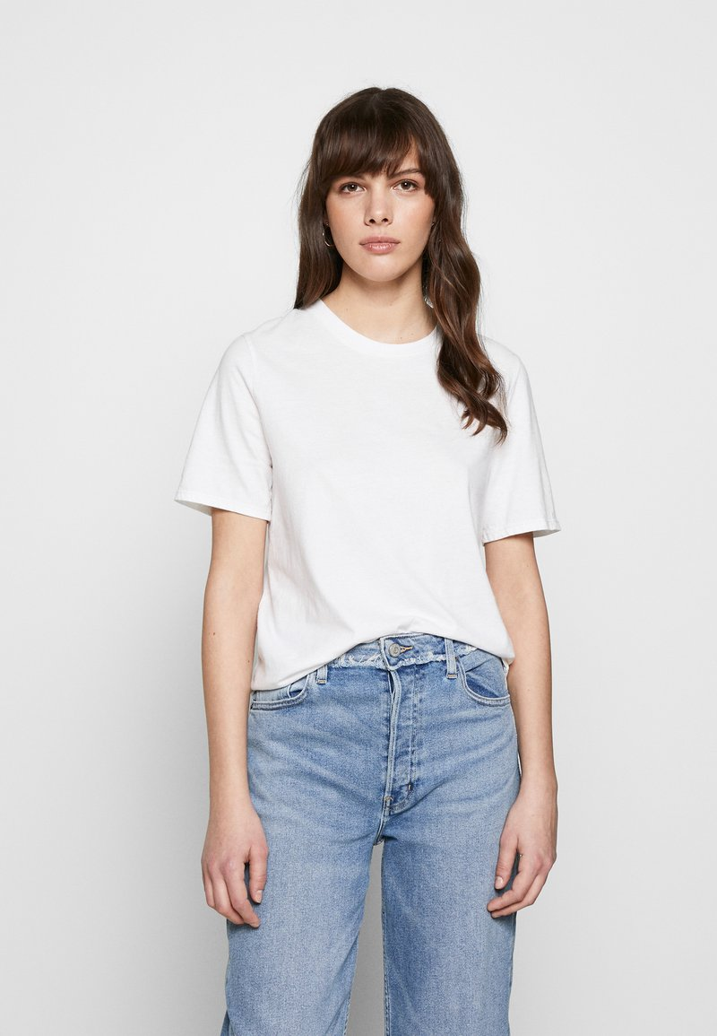 Ética - EVIE CLASSIC TEE - Basic T-shirt - white