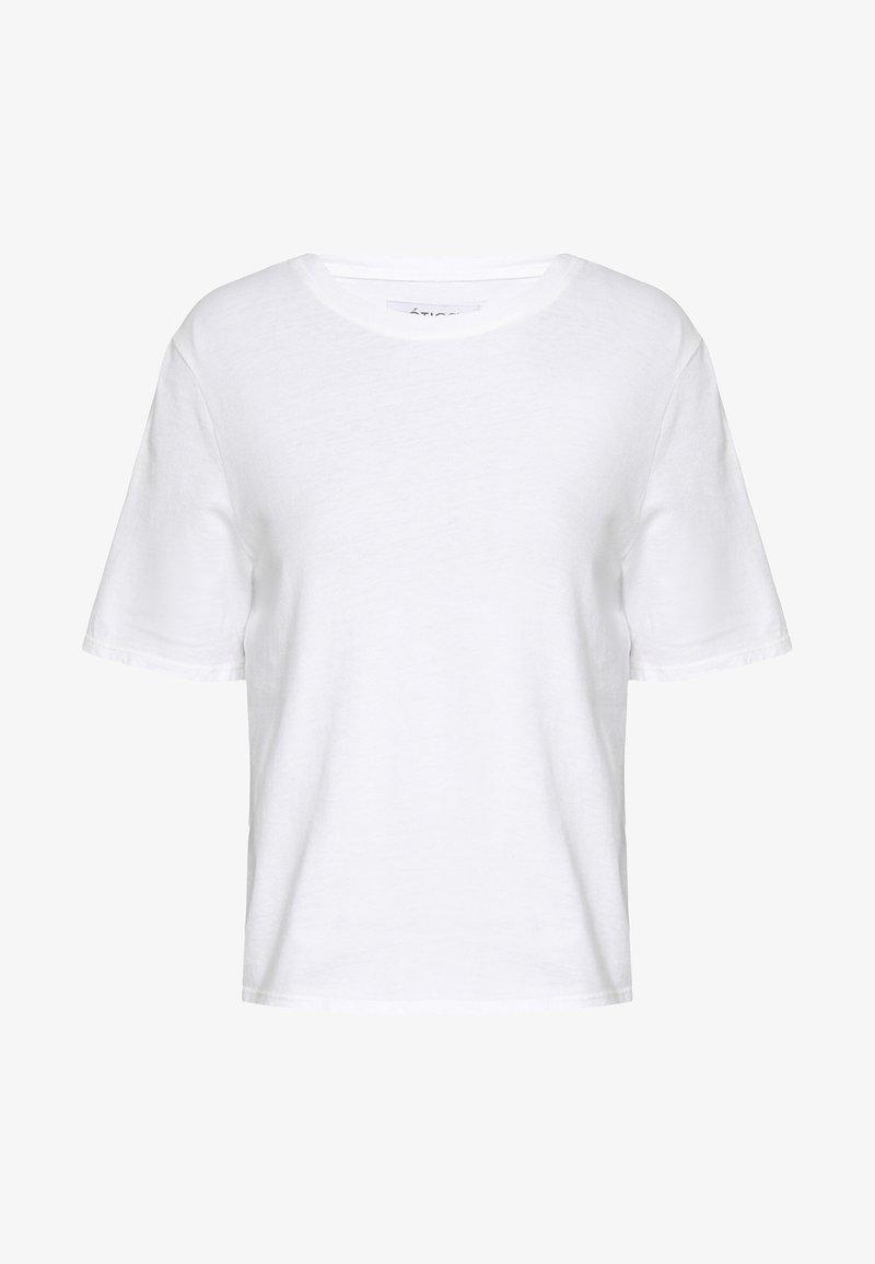 Ética - FRANKIE BOYFRIEND TEE - Basic T-shirt - white