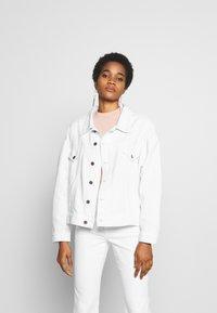 Ética - JUNE - Denim jacket - sustainable white - 0