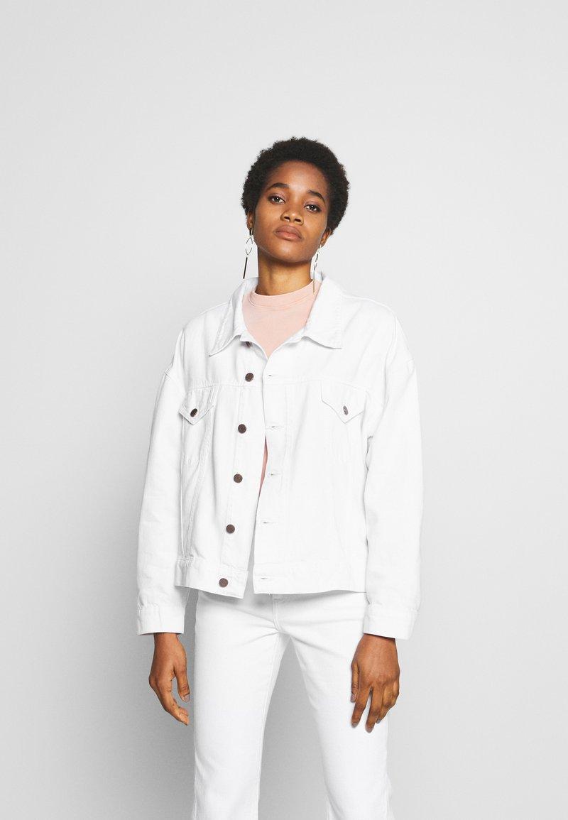 Ética - JUNE - Denim jacket - sustainable white