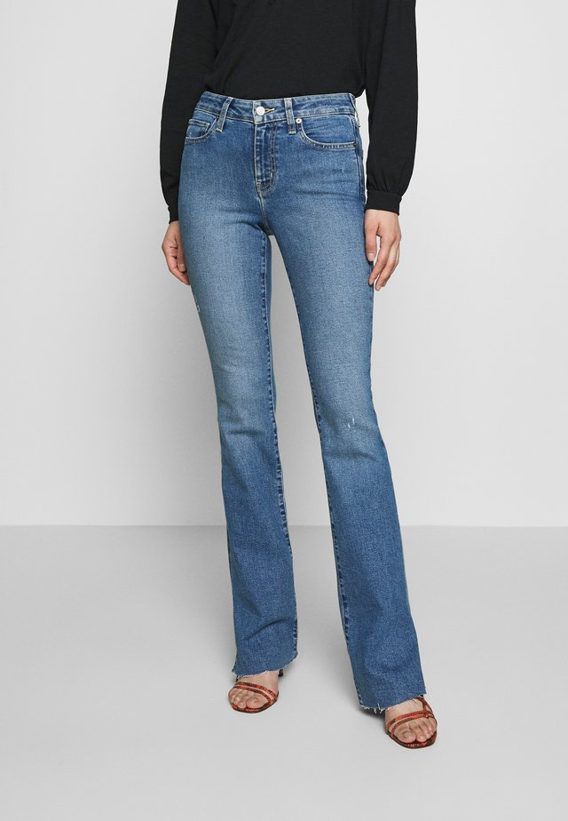 KELLY - Bootcut jeans - coyote creek