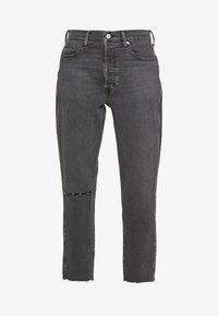 Ética - ALEX ANKLE - Jeans Tapered Fit - black denim - 4