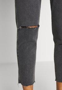 Ética - ALEX ANKLE - Jeans Tapered Fit - black denim - 3