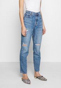 Ética - ALEX - Relaxed fit jeans - destroyed denim - 0