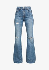 Ética - NINA - Flared Jeans - destroyed denim - 5