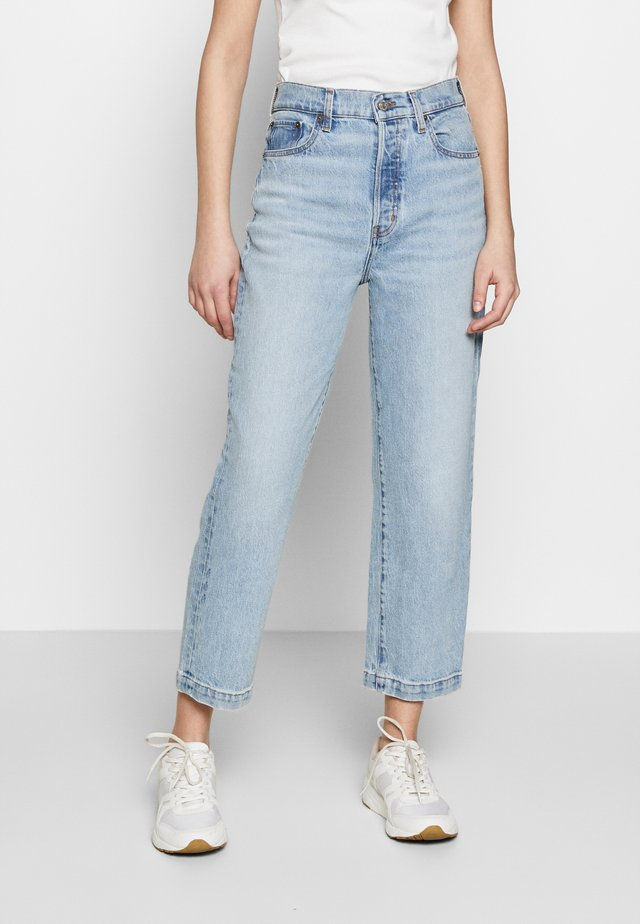 TYLER ANKLE - Straight leg jeans - clear lake