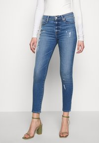 Ética - ANKLE - Jeans Skinny Fit - surf and turf - 0