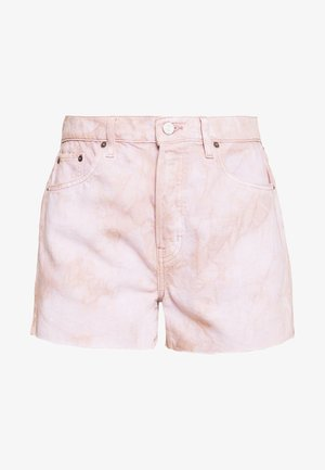 SYDNEY - Szorty jeansowe - bougainvillea watercolor