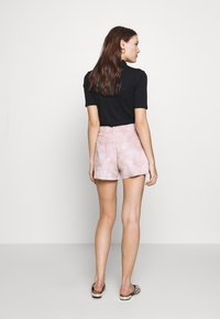 Ética - SYDNEY - Denim shorts - bougainvillea watercolor - 2
