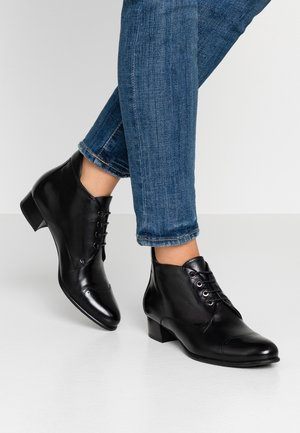Ankle boot - polar glove nero