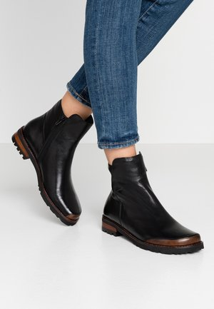 Classic ankle boots - nero/dattero