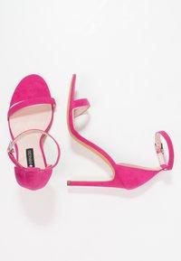 Even&Odd - Sandaler med høye hæler - pink - 3