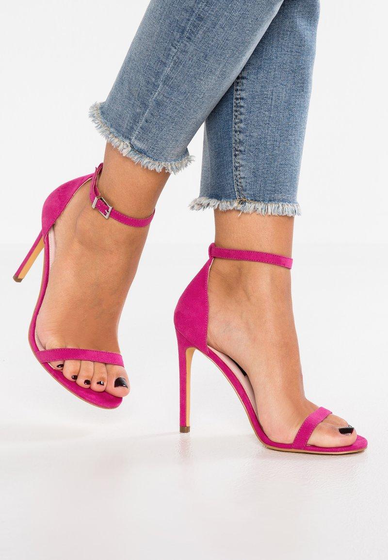 Even&Odd - Sandaler med høye hæler - pink