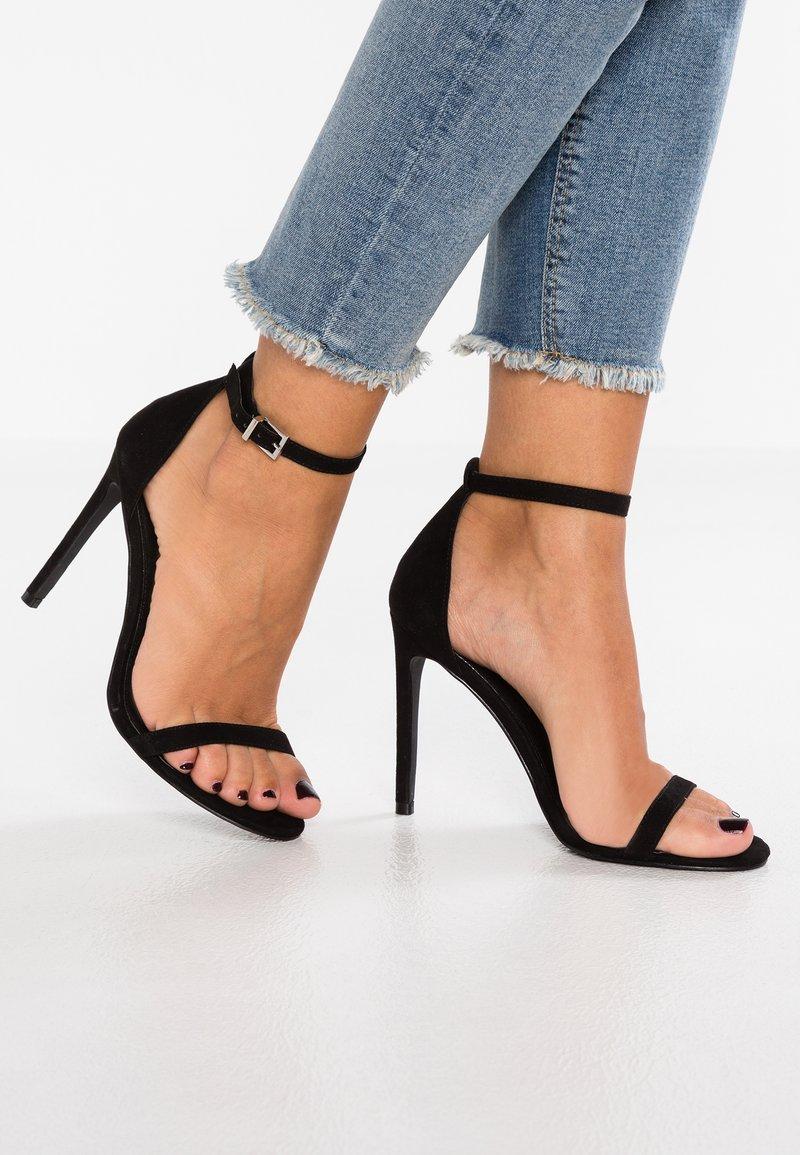 Even&Odd - Sandaler med høye hæler - black