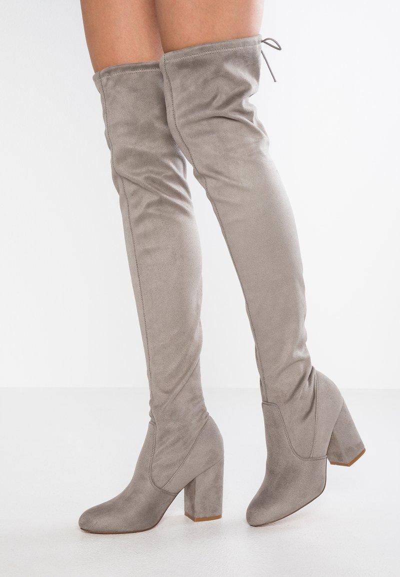 Even&Odd - High heeled boots - light grey