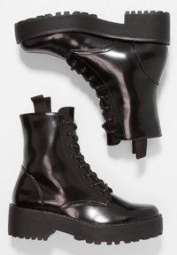 Even&Odd - Platform ankle boots - black - 3