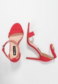 Even&Odd - Sandaler med høye hæler - red - 3