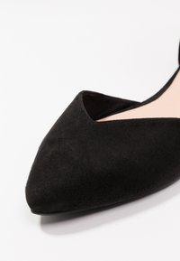 Even&Odd - Ankle strap ballet pumps - black - 2