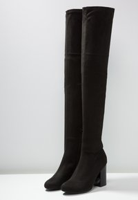 Even&Odd - Laarzen met hoge hak - black - 4