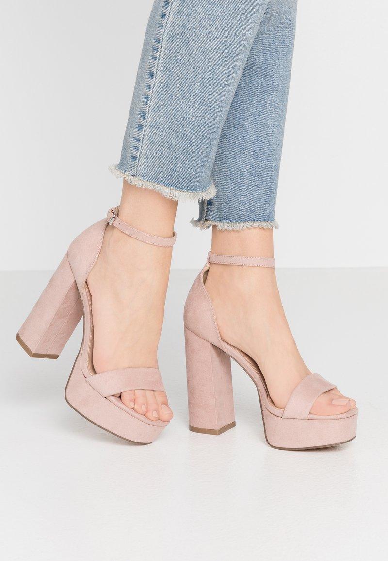 Even&Odd - Korolliset sandaalit - nude