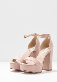 Even&Odd - Korolliset sandaalit - nude - 4