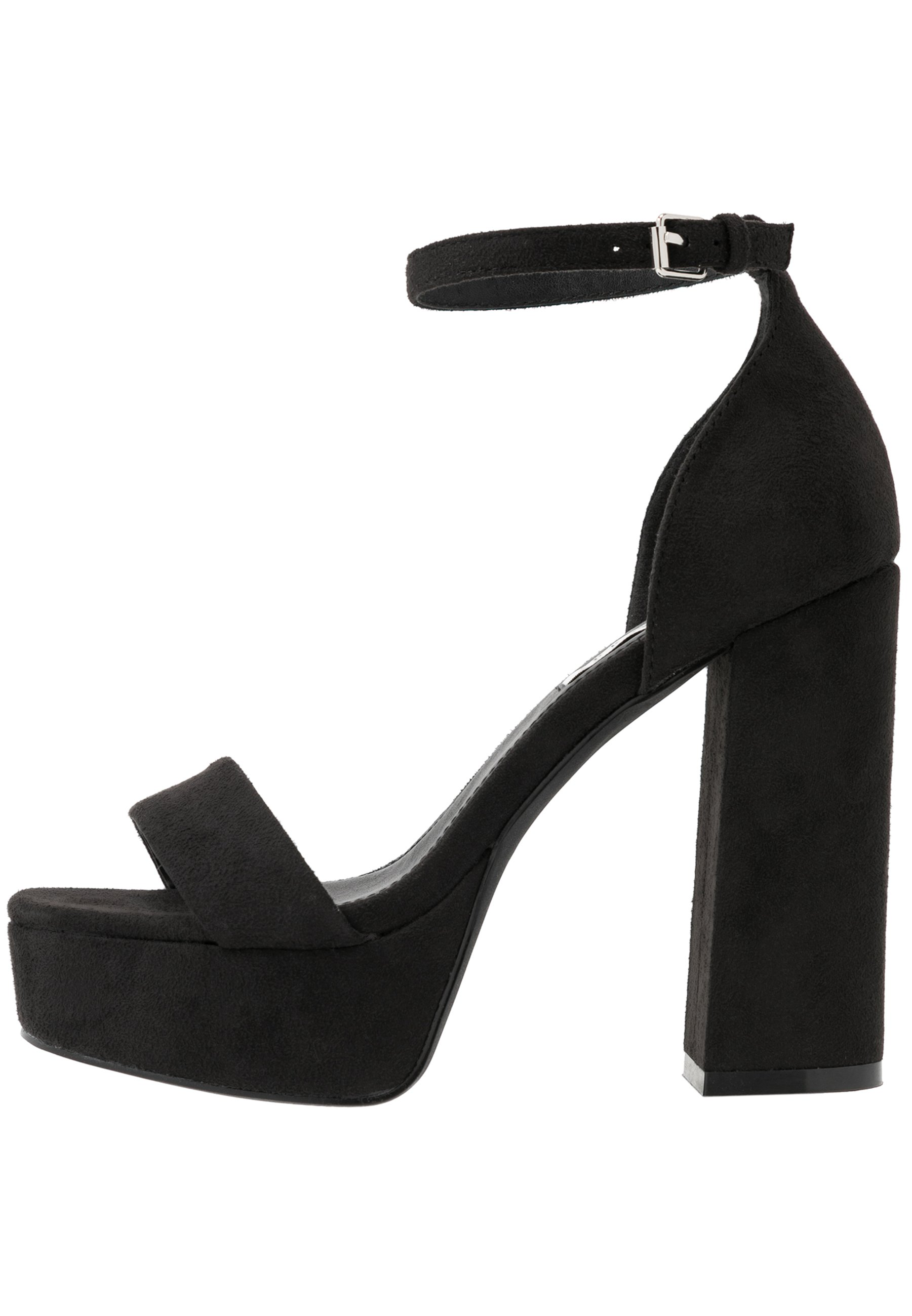 Sandali con tacco black