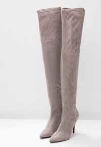 Even&Odd - High heeled boots - grey - 4