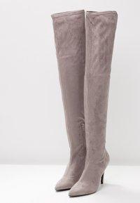 Even&Odd - Boots med høye hæler - grey - 4