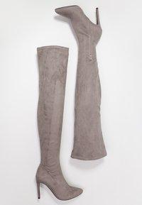 Even&Odd - Boots med høye hæler - grey - 3