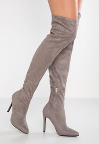 Even&Odd - Boots med høye hæler - grey - 0