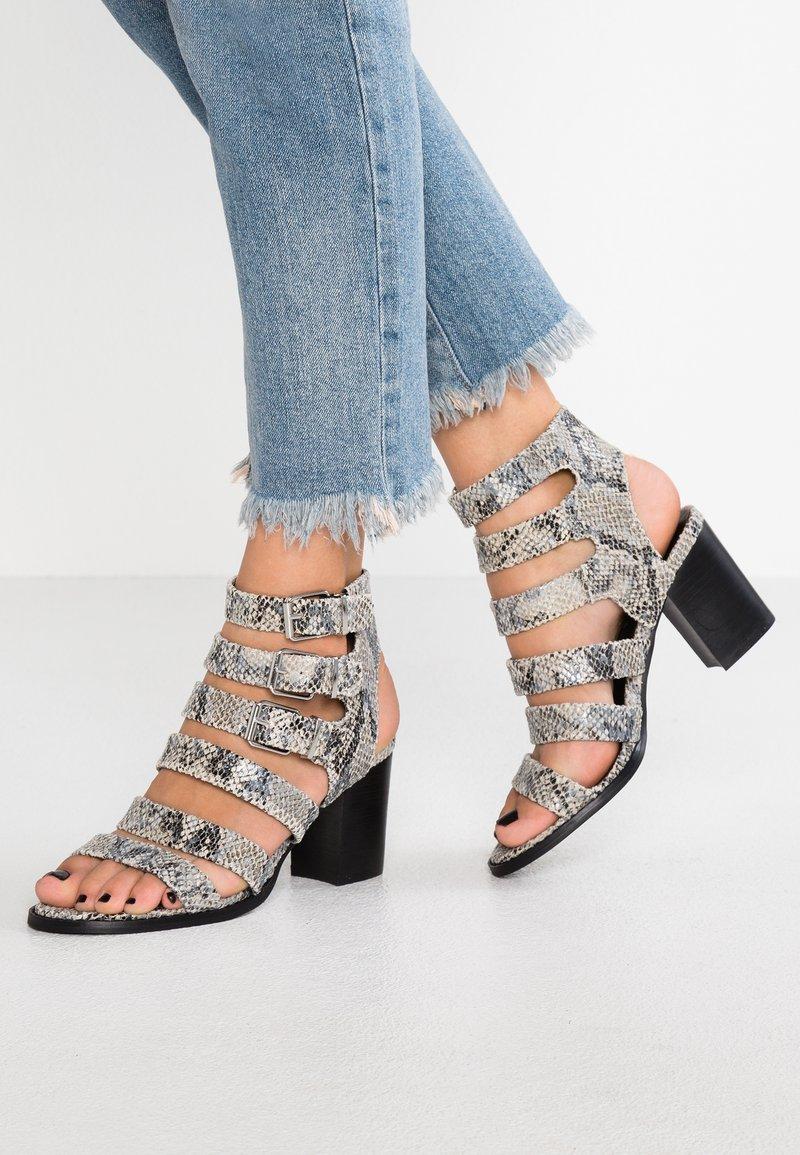 Even&Odd - Ankle cuff sandals - black