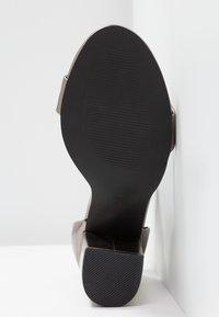 Even&Odd - High heeled sandals - gunmetall - 6