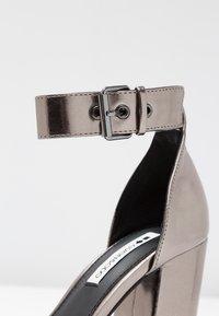 Even&Odd - High heeled sandals - gunmetall - 2
