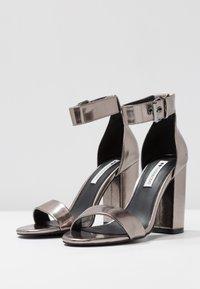 Even&Odd - High heeled sandals - gunmetall - 4