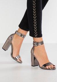 Even&Odd - High heeled sandals - gunmetall - 0