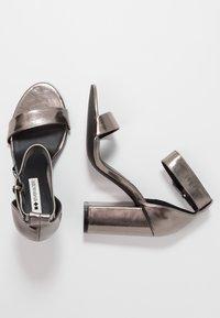 Even&Odd - High heeled sandals - gunmetall - 3