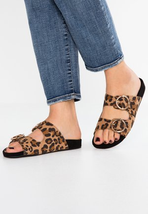 Domácí obuv - brown