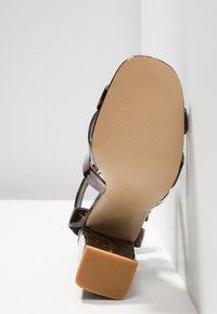 Even&Odd - Sandales à talons hauts - brown - 6
