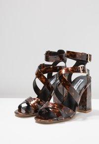 Even&Odd - Sandales à talons hauts - brown - 4