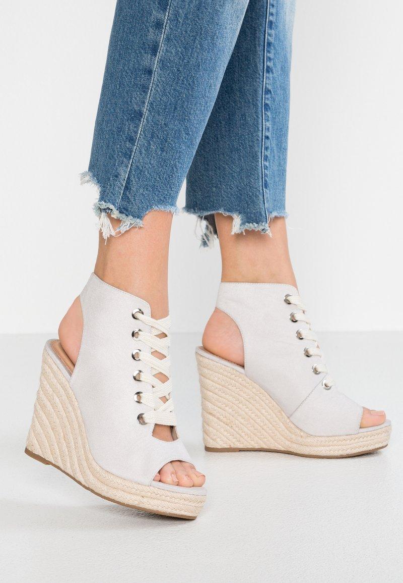 Even&Odd - Højhælede sandaletter / Højhælede sandaler - grey