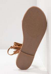 Even&Odd - Sandaalit nilkkaremmillä - brown - 6