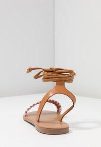 Even&Odd - Sandaalit nilkkaremmillä - brown - 5