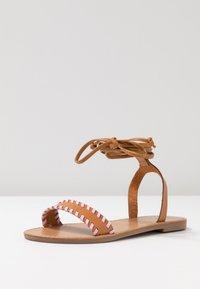 Even&Odd - Sandaalit nilkkaremmillä - brown - 4