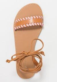 Even&Odd - Sandaalit nilkkaremmillä - brown - 3