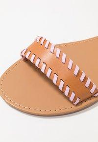 Even&Odd - Sandaalit nilkkaremmillä - brown - 2