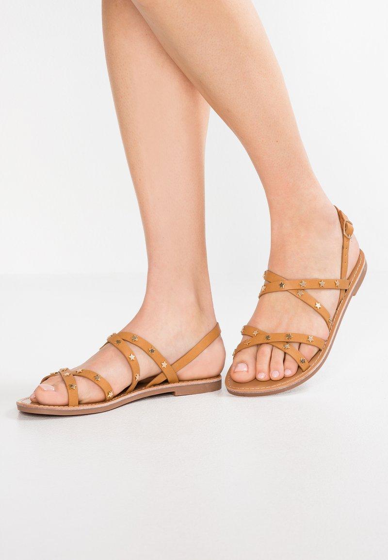 Even&Odd - Sandalias - brown