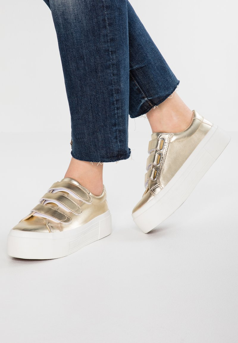 Even&Odd - Sneakers laag - gold