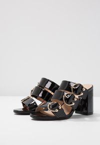 Even&Odd - Pantofle na podpatku - black - 4